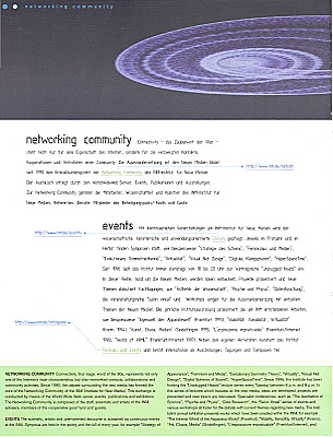 PDF page 9 booklet 1995 - 1998 INM-Institute for New Media