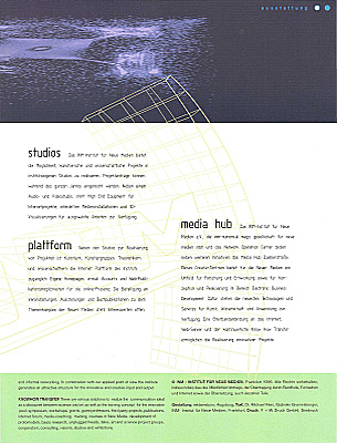PDF page 14 booklet 1995 - 1998 INM-Institute for New Media