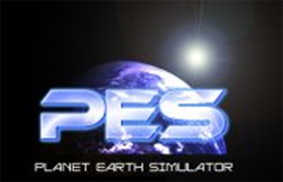 ehemaliges Logo PES-Planet Earth Simulator